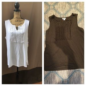 Charter Club Woman Sleeveless Tank